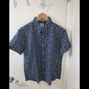 J. CREW SEESUCKER SS SHIRT (BRAND NEW) FLASH SALE